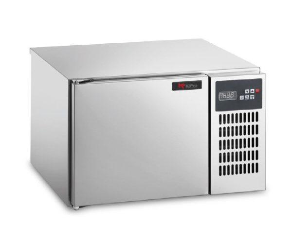 Abbattitore di Temperatura 3 Teglie GN 2/3 Serie POWER KiPro KPFRAB3001